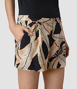 Womens Avia Fuji Shorts (Black) - product_image_alt_text_2