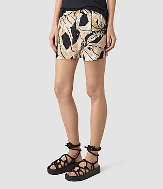 Womens Avia Fuji Shorts (Black) - product_image_alt_text_3
