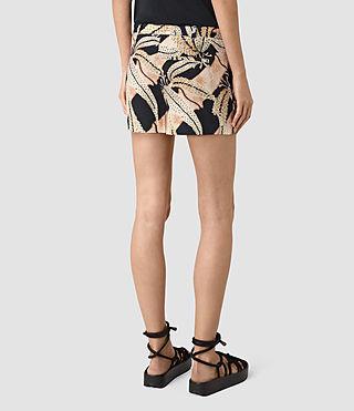 Womens Avia Fuji Shorts (Black) - product_image_alt_text_5