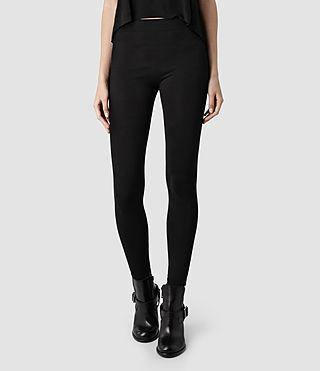 Womens Brix Leggings (Black) - product_image_alt_text_1