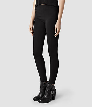 Womens Brix Leggings (Black) - product_image_alt_text_2