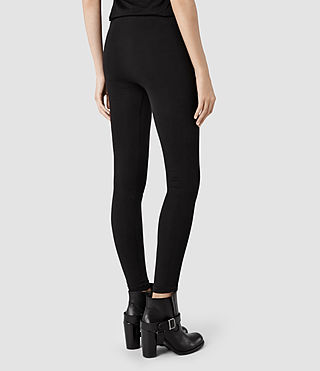 Womens Brix Leggings (Black) - product_image_alt_text_3