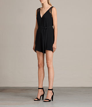 Damen Cate Playsuit (Black) - product_image_alt_text_3