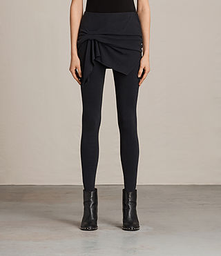 Womens Raffi Riviera Leggings (Black) - product_image_alt_text_1