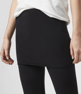 Womens Raffi Leggings (Charcoal) - product_image_alt_text_2