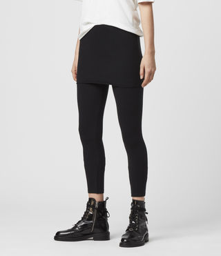 Womens Raffi Leggings (Black) - Image 3