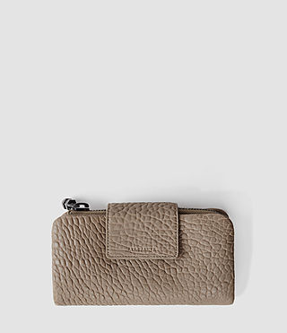 Womens Japanese Wallet (Cement)