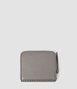 Donne Club Leather Coin Purse (Mid Grey) - product_image_alt_text_2