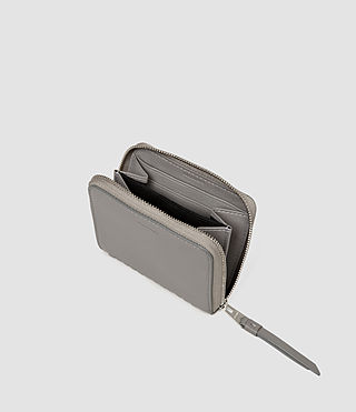 Donne Club Leather Coin Purse (Mid Grey) - product_image_alt_text_3
