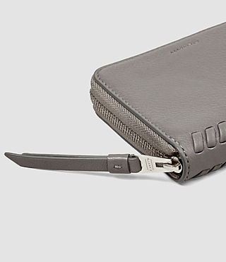 Mujer Club Coin Purse (Mid Grey) - product_image_alt_text_4
