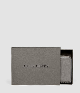 Donne Club Leather Coin Purse (Mid Grey) - product_image_alt_text_5