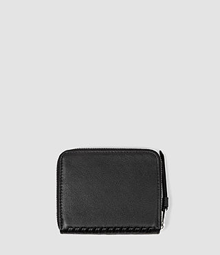Donne Club Leather Coin Purse (Black) - product_image_alt_text_2