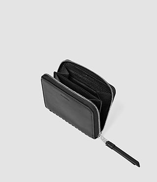 Femmes Club Leather Coin Purse (Black) - product_image_alt_text_3