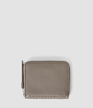 Mujer Club Coin Purse (Taupe) - product_image_alt_text_1
