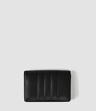 Womens Moto Card Holder (Black)