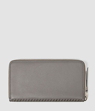 Donne Club Zip Around Wallet (Mid Grey) - product_image_alt_text_2