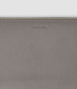 Damen Club Zip Around Wallet (Mid Grey) - product_image_alt_text_4