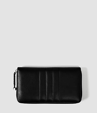 Womens Moto Wallet (Black)
