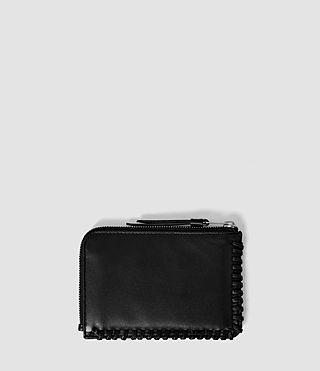 Women's Fleur De Lis Small Pouch (Black) - product_image_alt_text_2