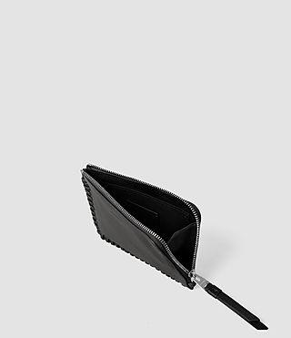 Women's Fleur De Lis Small Pouch (Black) - product_image_alt_text_3