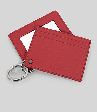 Damen Fetch Mirror Cardholder (CORAL RED) - Image 2