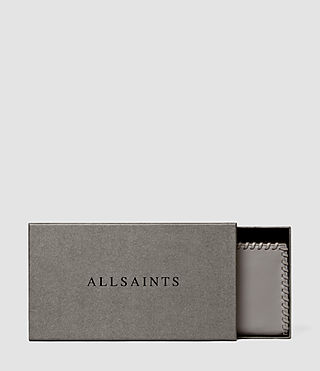 Donne Fleur De Lis Continental Wallet (Mid Grey) - product_image_alt_text_6