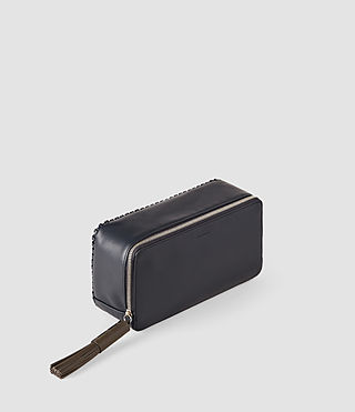 Mujer Pearl Beauty Case (PTRL BLUE/DRK GREY) - product_image_alt_text_3