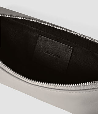 Womens Pearl Pencil Case (MID GREY/BLACK) - product_image_alt_text_5