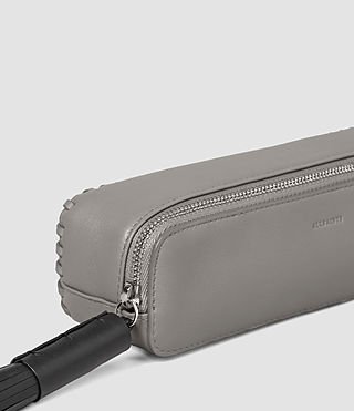Womens Pearl Pencil Case (MID GREY/BLACK) - product_image_alt_text_6
