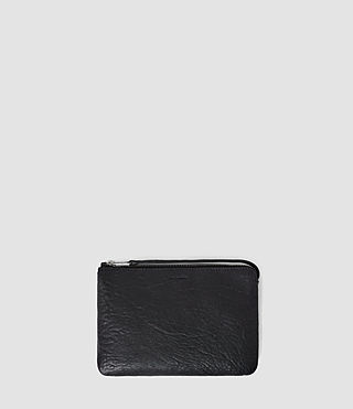 Mujer Paradise Small Leather Chain Purse (Navy/Black) - product_image_alt_text_2