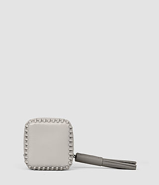 Femmes Pearl Coin Purse (LIGHT GRY/MID GREY) - product_image_alt_text_2