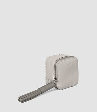 Women's Pearl Coin Purse (LIGHT GRY/MID GREY) - product_image_alt_text_3