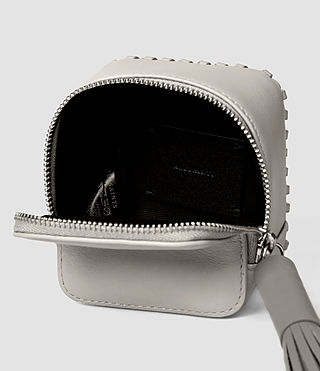 Women's Pearl Coin Purse (LIGHT GRY/MID GREY) - product_image_alt_text_5