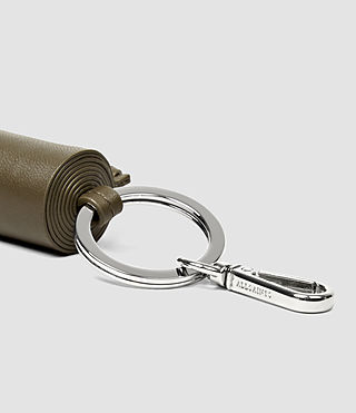 Damen Pearl Keyfob Chain (Dark Khaki Green) - product_image_alt_text_2