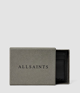 Donne Fleur De Lis Leather Cardholder (Midnight Blue) - product_image_alt_text_4