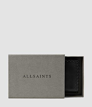 Mujer Fleur De Lis Small Wallet (Black) - product_image_alt_text_5