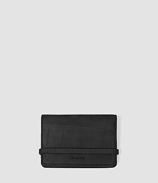 Womens Paradise Leather Multicard Holder (Black)