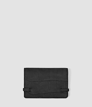 Mujer Paradise Leather Multicard Holder (Black) - product_image_alt_text_2