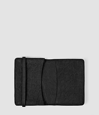 Mujer Paradise Leather Multicard Holder (Black) - product_image_alt_text_3