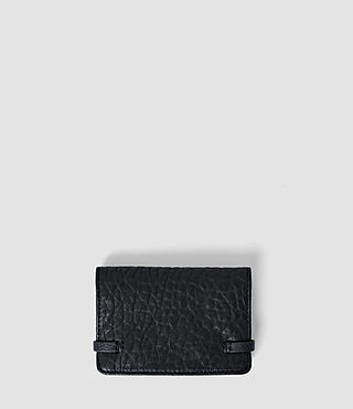 Damen Paradise Leather Cardholder (Navy/Black) - product_image_alt_text_2