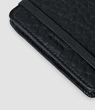 Damen Paradise Leather Cardholder (Navy/Black) - product_image_alt_text_3