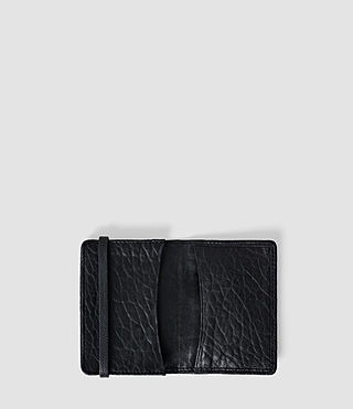 Damen Paradise Leather Cardholder (Navy/Black) - product_image_alt_text_4