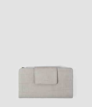 Donne Paradise Japanese Wallet (Light Grey) -