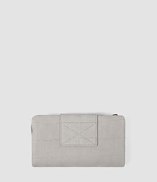 Womens Paradise Japanese Wallet (Light Grey) - product_image_alt_text_3