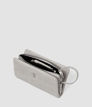 Womens Paradise Japanese Wallet (Light Grey) - product_image_alt_text_4
