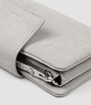 Womens Paradise Japanese Wallet (Light Grey) - product_image_alt_text_5