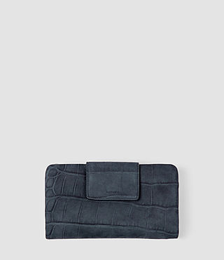 Womens Paradise Japanese Wallet (Petrol Blue)