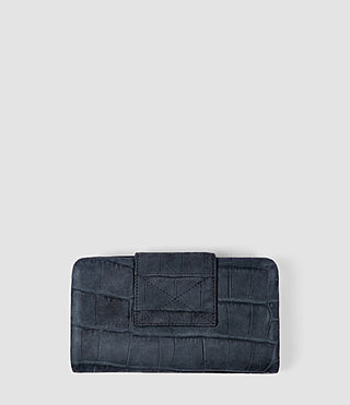 Women's Paradise Japanese Wallet (Petrol Blue) - product_image_alt_text_3