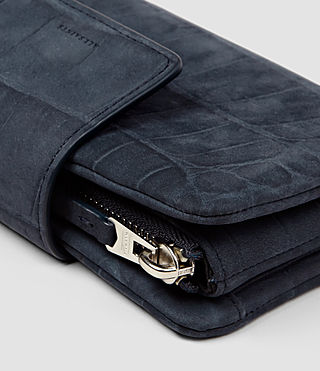 Women's Paradise Japanese Wallet (Petrol Blue) - product_image_alt_text_5
