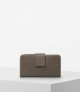 Womens Paradise Wallet (Ash Grey)